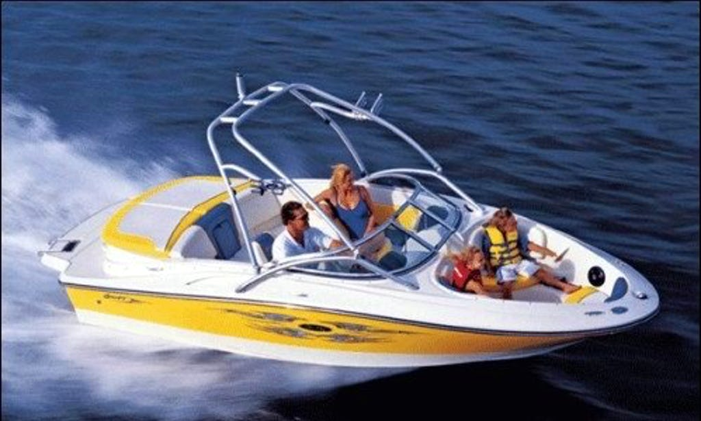 20 ft Sea Ray Bowrider
