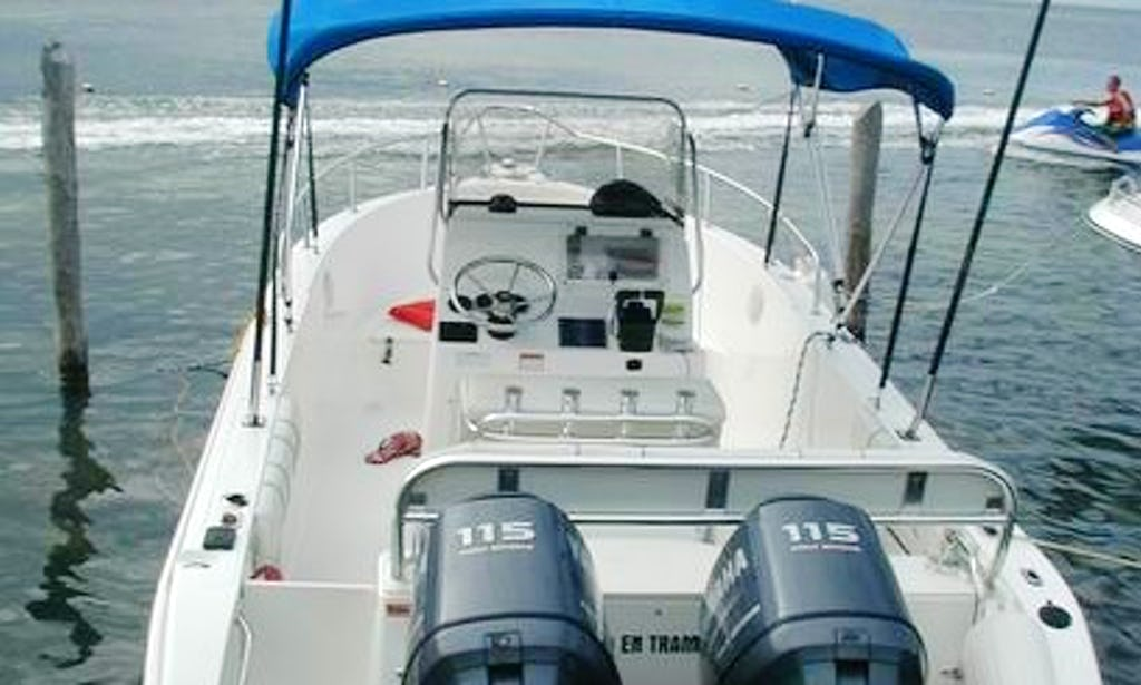 25 ft Cobia Center Console