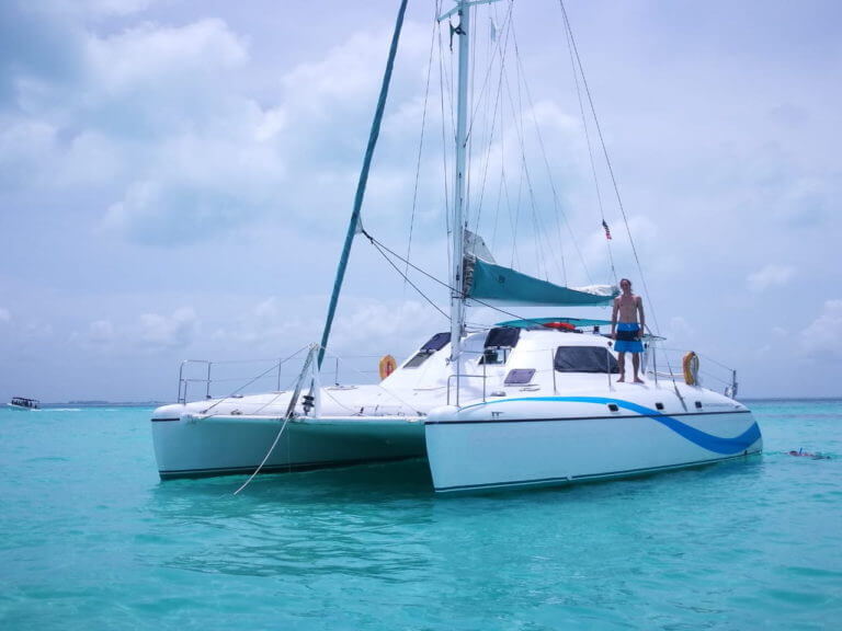 38 ft Cruising Catamaran