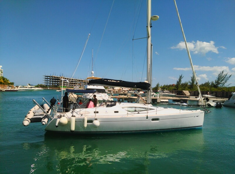 40 ft Odissey 420 Sailboat