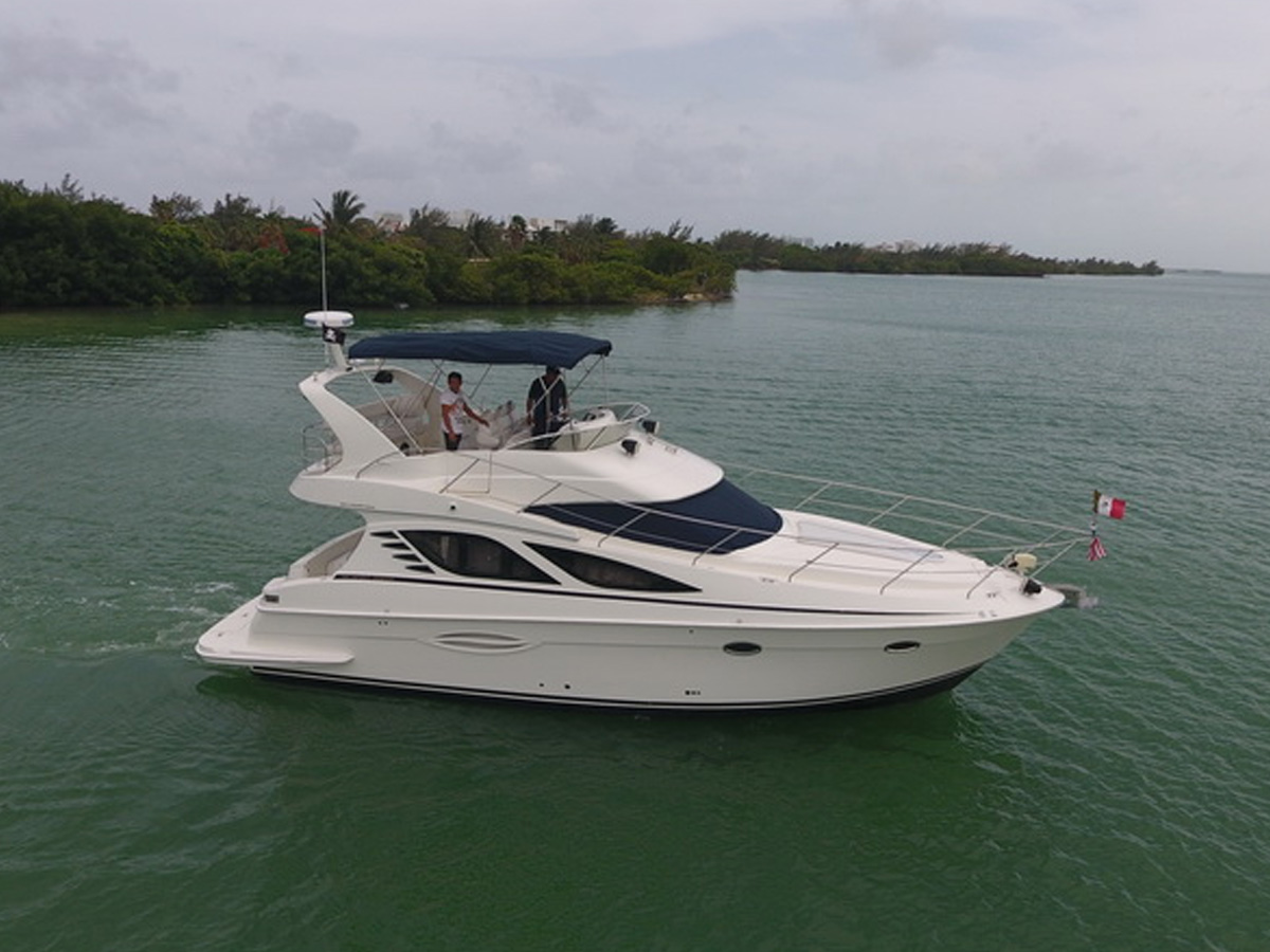 41 ft Silverton Luxury