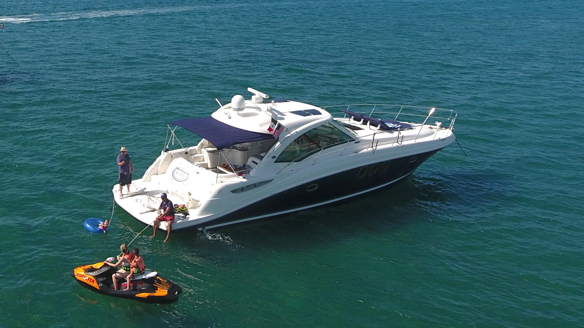 50 Ft Searay Sport Yacht