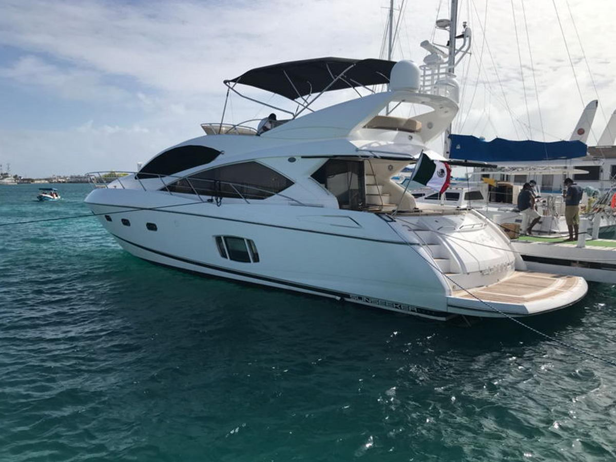 64 ft Sunseeker Manhatan